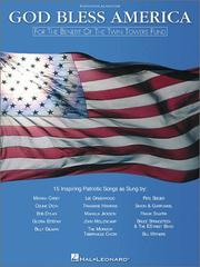 Cover of: God Bless America | Hal Leonard Corp.
