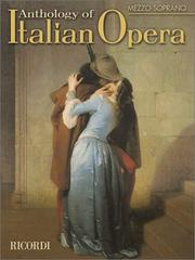 Cover of: Anthology of Italian Opera | Paolo Toscano