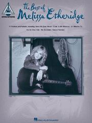 Cover of: The Best of Melissa Etheridge
