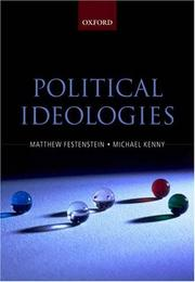 Cover of: Political Ideologies |