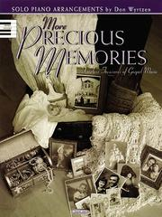 Cover of: More Precious Memories
