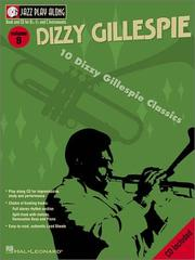Cover of: Vol. 9 - Dizzy Gillespie: Jazz Play Along Series (Jazz Play Along)