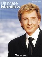 Cover of: Ultimate Manilow