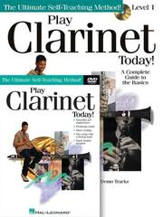 Play Clarinet Today! Beginners Pack