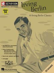 Cover of: Vol. 14 - Irving Berlin: Jazz Play-Along Series