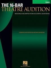 The 16-Bar Theatre Audition