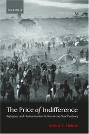 Cover of: The Price of Indifference | Arthur C. Helton
