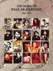 Cover of: The Music of Paul McCartney - 1963-1973