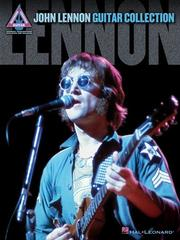 Cover of: John Lennon - Guitar Collection