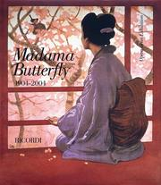 Cover of: Madama Butterfly 1904-2004: Opera at an Exhibition