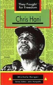 Chris Hani by Michele Berger