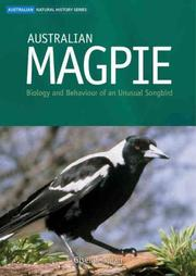 Cover of: Australian magpie