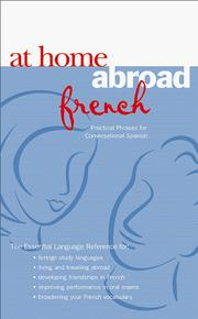 Cover of: At home abroad French | Harrison, Helen
