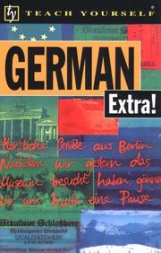 Cover of: Teach Yourself German Extra! Audio Pack