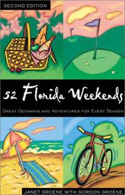 Cover of: 52 Florida weekends