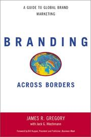 Cover of: Branding Across Borders | James R. Gregory