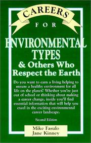 Cover of: Careers for environmental types & others who respect the Earth