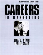 Cover of: Careers In Marketing | Lila B. Stair