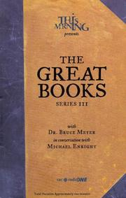 Cover of: Great Books | Bruce Meyer