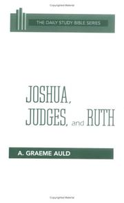 Cover of: Joshua, Judges, and Ruth