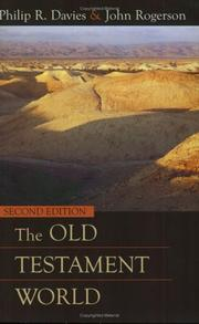 Cover of: The Old Testament world