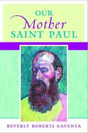 Cover of: Our mother Saint Paul