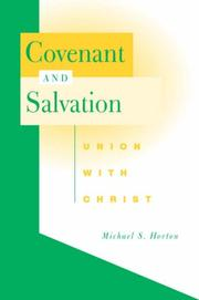 Cover of: Covenant and salvation