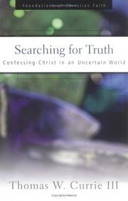 Cover of: Searching for Truth | Thomas W. Currie