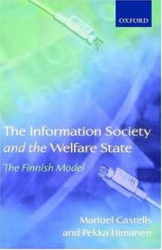 Cover of: The information society and the welfare state