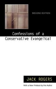Cover of: Confessions of a Conservative Evangelical