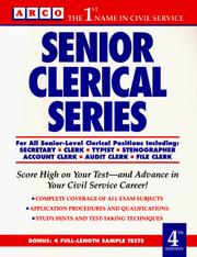 Cover of: Senior clerical series