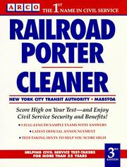 Cover of: Railroad porter