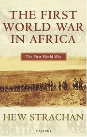 Cover of: The First World War in Africa | Hew Strachan