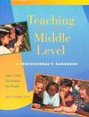 Cover of: Teaching at the middle level: a professional's handbook