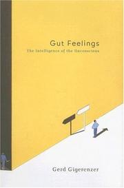 Cover of: Gut Feelings | Gerd Gigerenzer