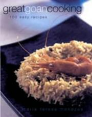 Cover of: Great Goan Cooking