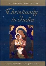 Cover of: Christianity in India