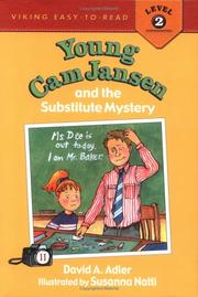 Cover of: Young Cam Jansen & the Substitute Mystery