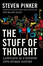 Cover of: The Stuff of Thought: Language as a Window into Human Nature