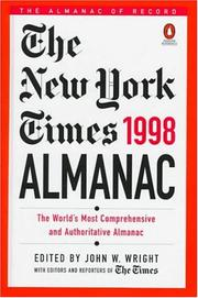 Cover of: The New York Times Almanac 1998 | John W. Wright