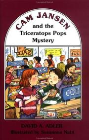 Cover of: Cam Jansen and the Triceratops Pops mystery