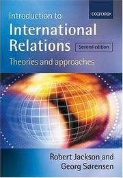 Cover of: Introduction to international relations