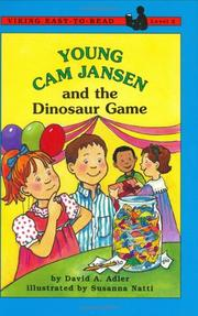 Cover of: Young Cam Jansen and the dinosaur game