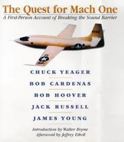 Cover of: The quest for mach one |