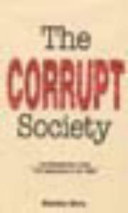 Cover of: Corrupt Society