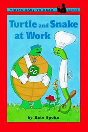 Cover of: Turtle and Snake at work