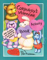 Cover of: Corduroy's Valentine Activity Book (Corduroy)