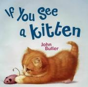 Cover of: If You See a Kitten
