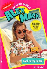 Cover of: Pool Party Panic the Secret World of Alex Mack 28 (Alex Mack) | V.E. Mitchell
