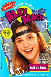Cover of: Sink or Swim the Secret World of Alex Mack 29 (Alex Mack)